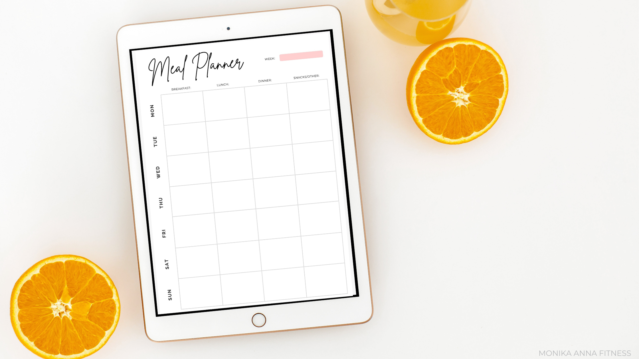 Weekly Meal Planner - Monika Anna Fitness (2)